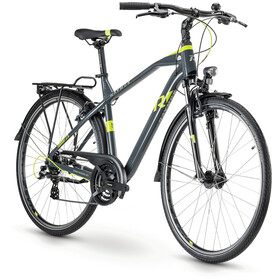 Raymon TourRay 2.0 21-speed Altus, dark grey/lime/grey